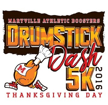Maryville Boosters Drumstick Dash on Thanksgiving Day