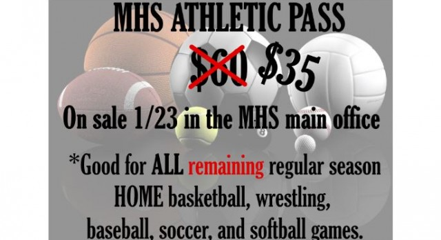 Discounted MHS Athletic Passes