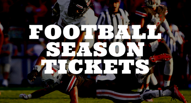 ON SALE- Football Season Tickets