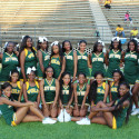 Girls Cheer JD at Carver 8-31-17
