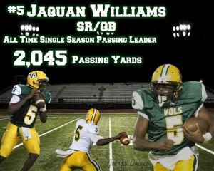 J Williams Passing Rec