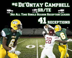 Deontay Campbell 3rd All Time