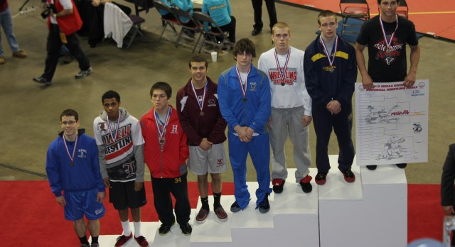 Tanner Jewell Places 5th in State Wrestling Meet