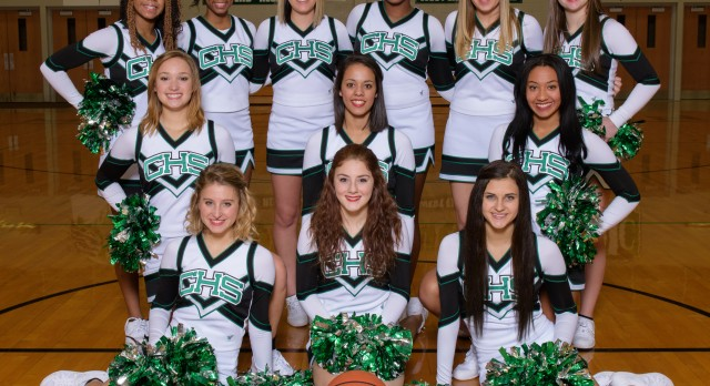 2014-15 Basketball Cheerleading Team Pictures