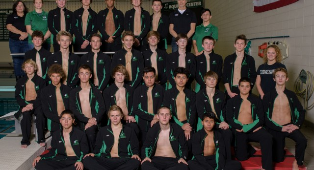 2014-15 Boys Swim Team Picture