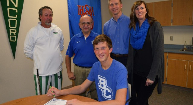 Braden Fish Signs With Bethel College