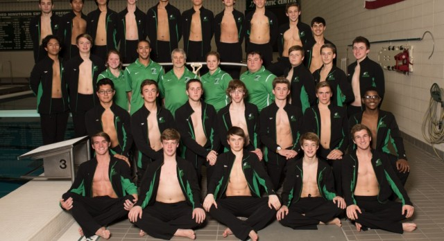 2015-16 Boys Swimming Team Picture