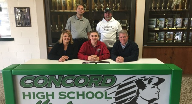 Mitchell Boyer Signs With Indiana University East