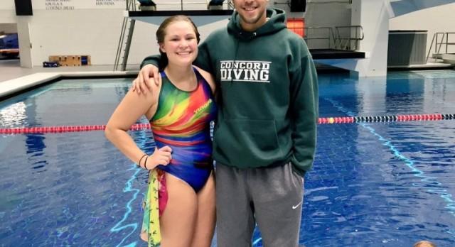 Lauren Boone Named NISCA /Speedo All American in Diving