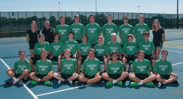 2016 Boys Tennis Team Picture