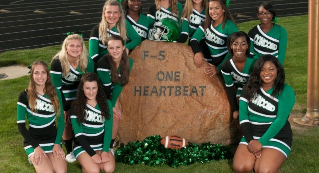 2016 Football Cheerleading Team Pictures
