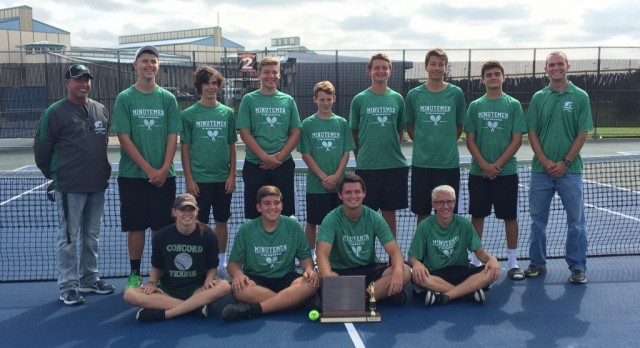 Boys Tennis Wins NLC Championship; Will Boyer Named All-Conference