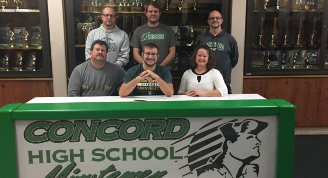 Brian Hochstetler Signs With Manchester University