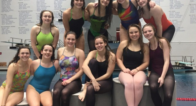 2017 Girls Swimming State Finals Results