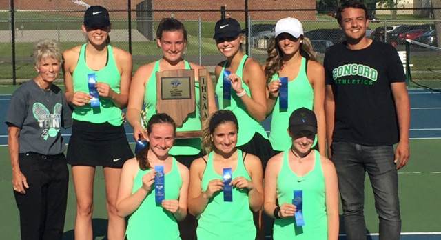 Girls Tennis – 2017 Sectional and Regional Champions!