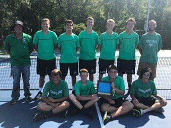 Boys Tennis Wins 2017 NLC Championship; Boyer, Slabach Named to All-NLC Teams