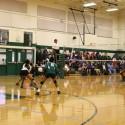 Sub-varsity volleyball vs Crowley