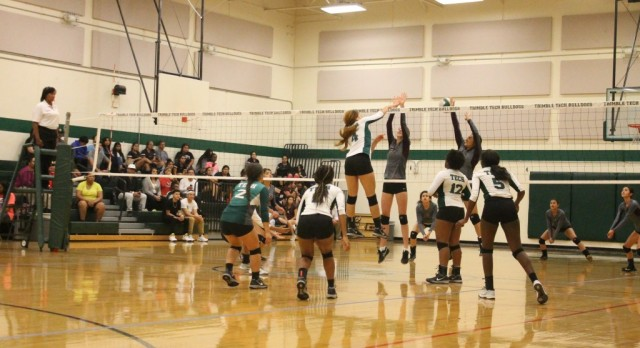 Volleyball team beats Northside in 3 games along with Teacher Appreciation night, double WIN !!!