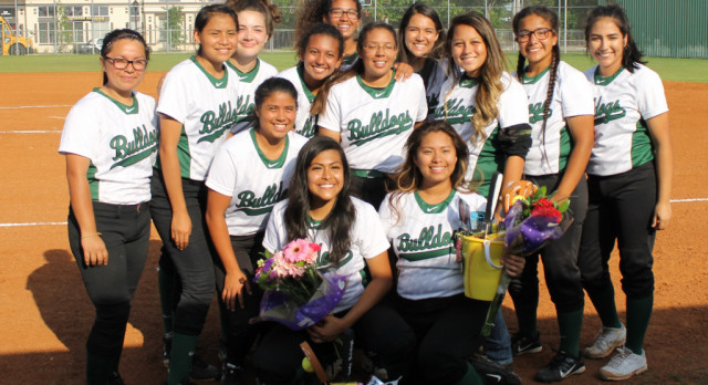 Softball celebrates seniors and looks forward to play-offs despite loss, baseball team wins big game against Heights!