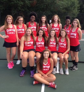 Girls Tennis Team 2016