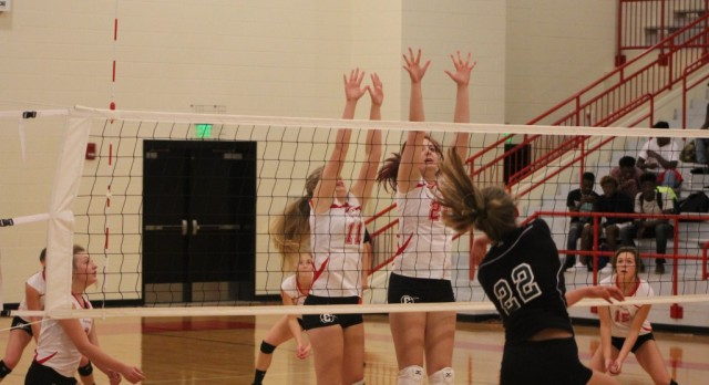 Volleyball Hosts Playoff Game