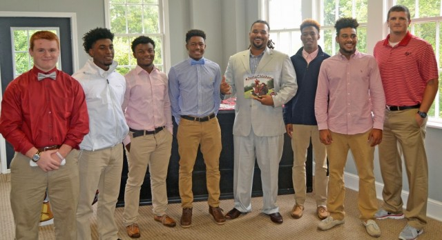 Red Devils Honored at Touchdown Club