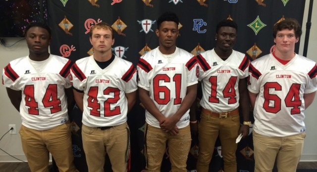 Players Honored at Touchdown Club