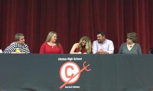 Addison signing