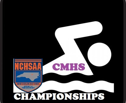CMHS Swimmers Off to NCHSAA 3A State Finals