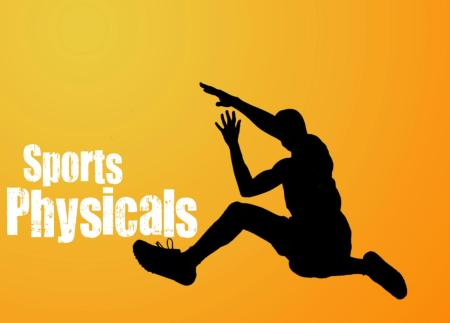 Monday, May 12 – Sports Physicals