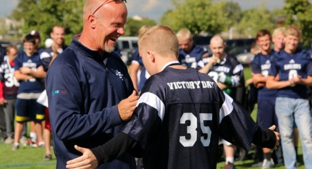 Victory Day Featured on Champions of Character Show