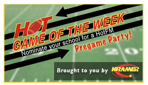 Vote for the 105.3 HOT-FM Game of the Week