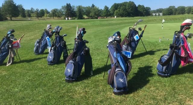 Girls Varsity Golf beat Calvin Christian High School 180-214