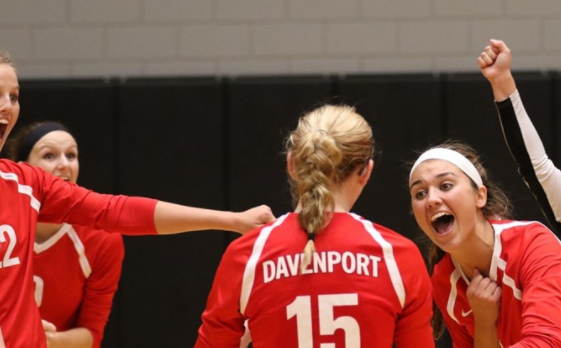 Sailor Volleyball Alumni recognized by WHAC for academics