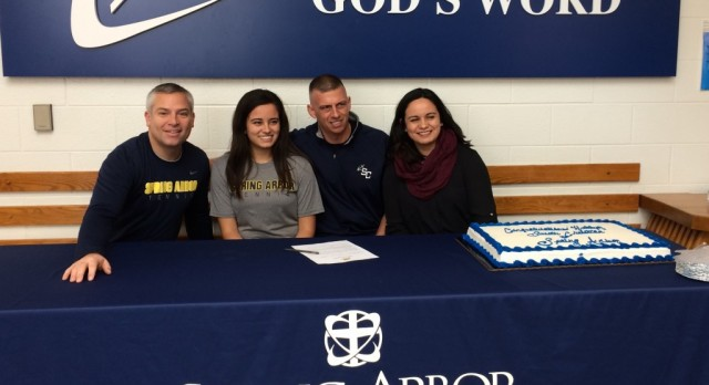 Dykema signs with Spring Arbor