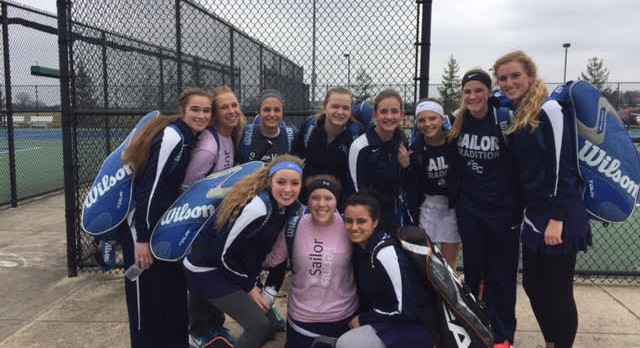 Girls Tennis Takes Second at Their Own Sailor Invite