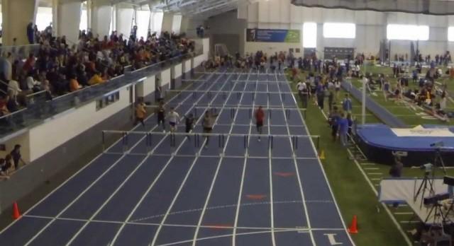 Girls GVSU Indoor Results