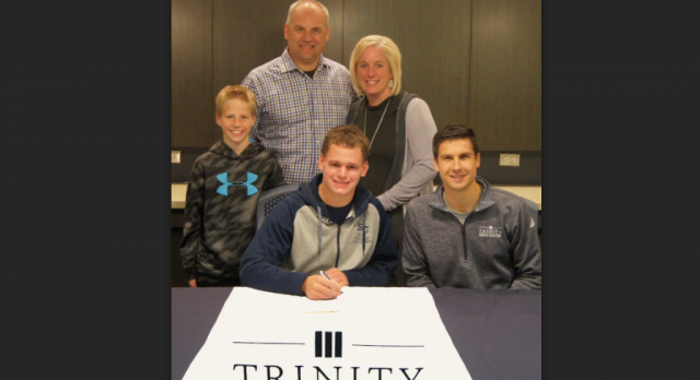 DeKock signs with Trinity