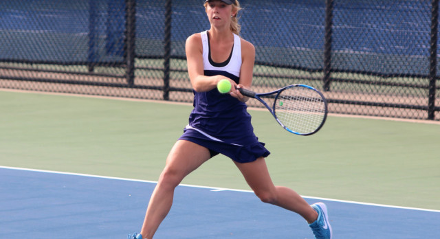 Girls Tennis plays well, defeats North Muskegon