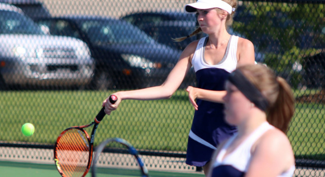 Sailors defeat NPC in Girls Tennis Dual