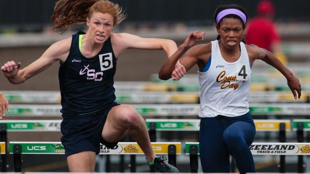 South Christian junior hurdler Mariel Bruxvoort claims two state titles
