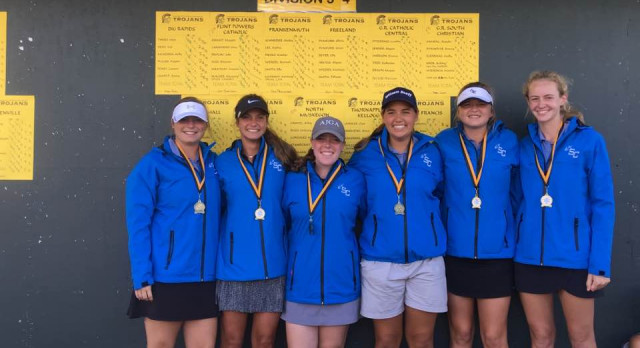 Girls Golf finishes 1st place in TC