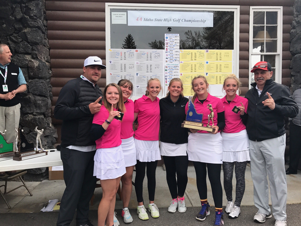 Girls Golf State Champions 2017