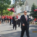 Band in Fall Festival Parade