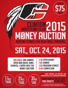 Money Auction Flyer - 2015