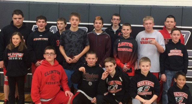 Middle School Wrestling Finishes 5th out of 18 at Napoleon Invite