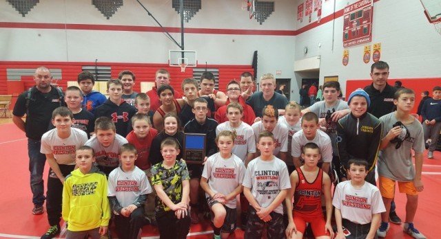 MS Wrestling finishes 1st at Michigan Center Team Tournament