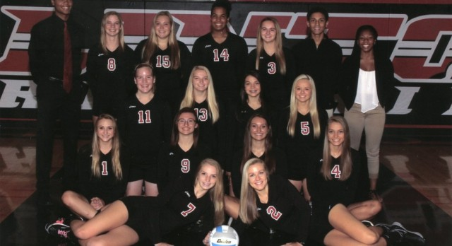 Girls Varsity Volleyball Compete at  Adrian Invite