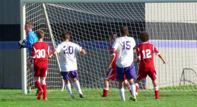 Boys Varsity Soccer falls to Jackson Christian