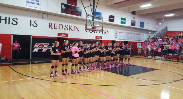 Varsity Volleyball beat Sand Creek 3-0